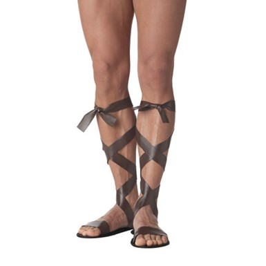 Adult Roman Sandal Brown for Halloween Costume
