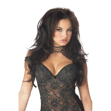 Seductress Wig - Long Brunette Wig - Womens Halloween Costumes f9353af0f
