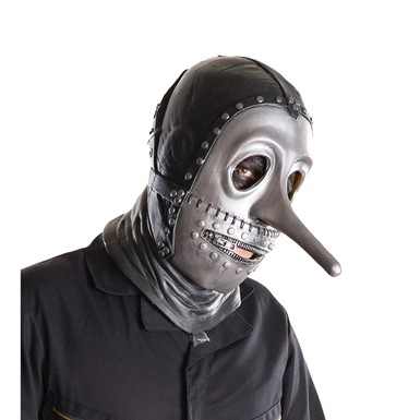 Adult Slipknot Chris Evil Metal Costume Full Mask