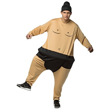Adult Sumo Hoopster Halloween Costume