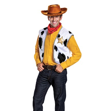Adult Toy Story Woody Cowboy Costume Kit