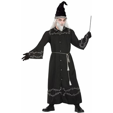 Adult Wizard Robe Halloween Costume