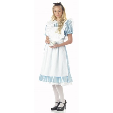 Alice in Wonderland Womens Halloween Costume