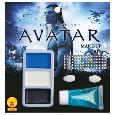 Avatar Na'vi Makeup Kit Halloween Costume Accessories