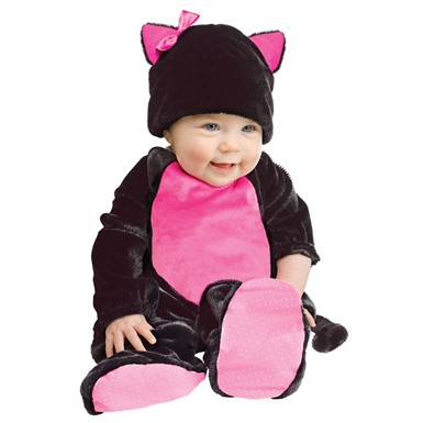 Baby Black Kitty Infant Halloween Costume