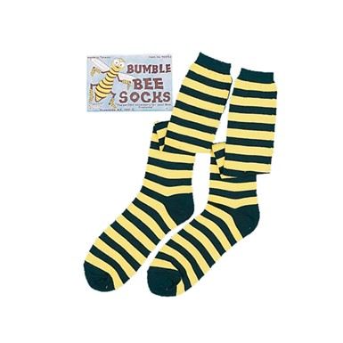 Bee Striped Socks Halloween Costumes Accessories