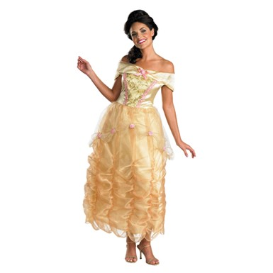Belle Adult Deluxe Halloween Costume
