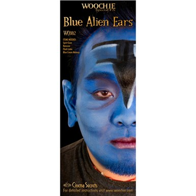 Blue Alien Ears Halloween Costume Accessories