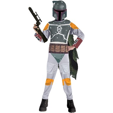 Boba Fett Star Wars Child Halloween Costume