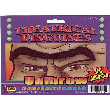Borat UniBrow for Halloween Costume Accessory