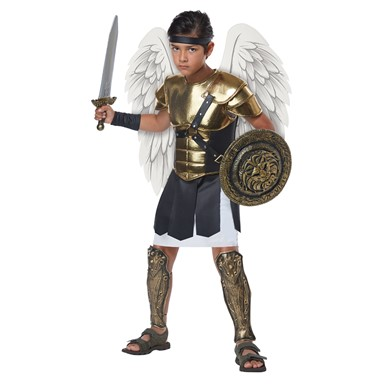 Boys Archangel Warrior Biblical Costume