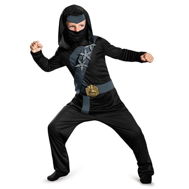 Boys Blackstone Ninja Classic Halloween Costume