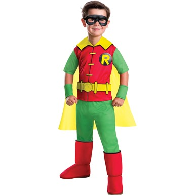 Boys Deluxe Robin Animated Series Costume
