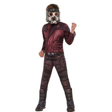 Boys Deluxe Star-Lord Muscle Chest Costume