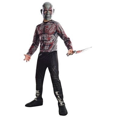 Boys Drax The Destroyer Costume