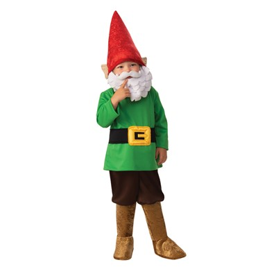 Boys Garden Gnome Child Halloween Costume