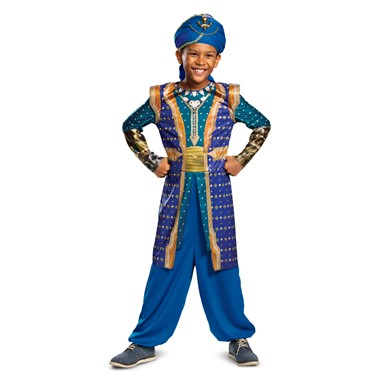 Boys Genie Disney Aladdin Halloween Costume