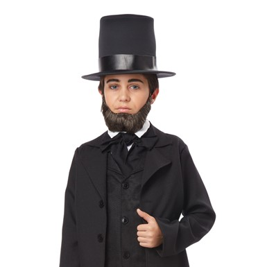 Boys Honest Abe Halloween Beard