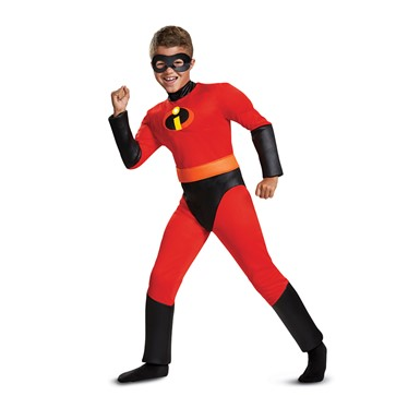 Boys Incredibles 2 Muscle Dash Superhero Costume
