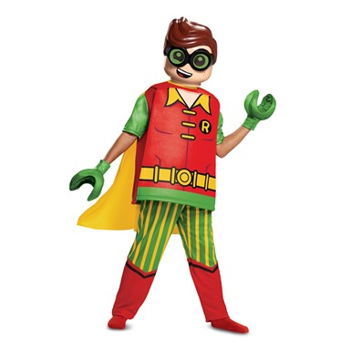 Boys LEGO Batman Robin Deluxe Halloween Costume