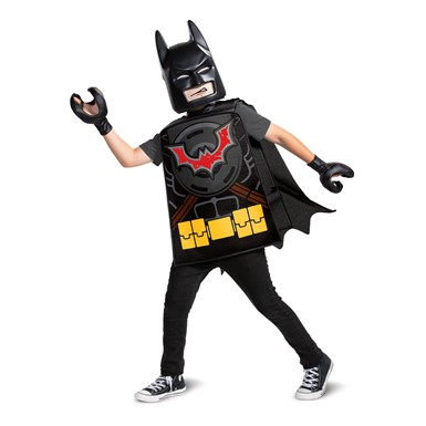 Boys LEGO Movie Batman Superhero Costume Standard Size