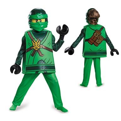 Ninjago Halloween Costume.Boys Ninjago Deluxe Lloyd Costume Lego Halloween Costumes