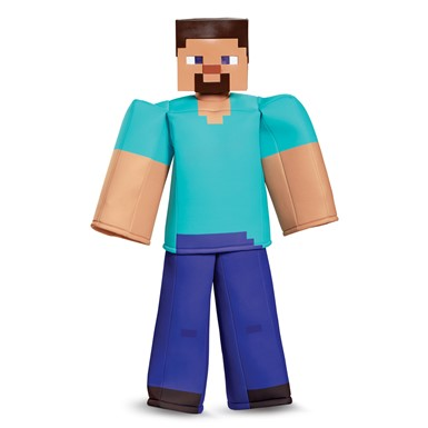 Boys Minecraft Steve Prestige Halloween Costume