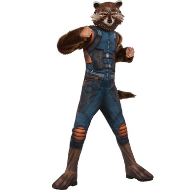Boys Muscle Chest Rocket Guardians of the Galaxy Costume