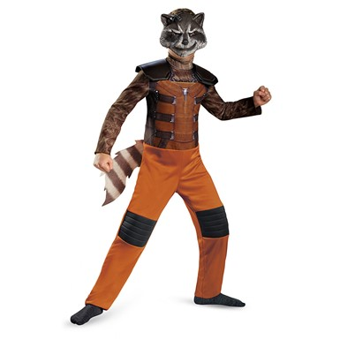 Boys Rocket Raccoon Classic Halloween Costume