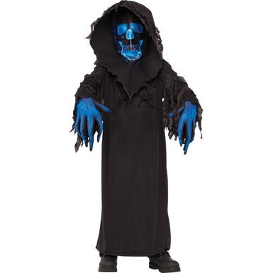 Boys Skull Phantom Ghoul Halloween Costume