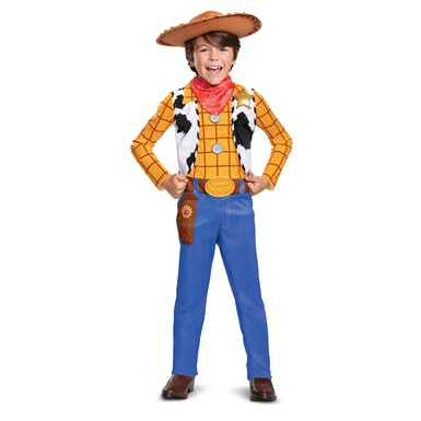 Boys Woody Classic Toy Story Cowboy Costume