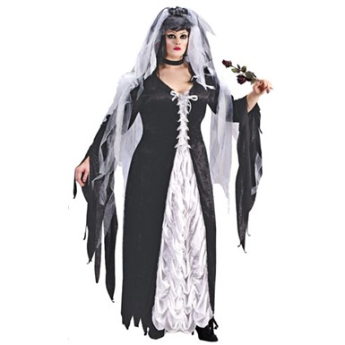 Halloween Bride.Womens Muerta Gothic Black 4 Costume Heels