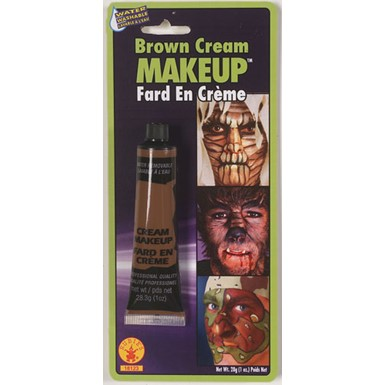 Brown Cream Makeup Halloween Costumes and Accessories