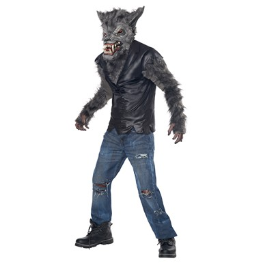 Child Full Moon Fury Werewolf Halloween Costume