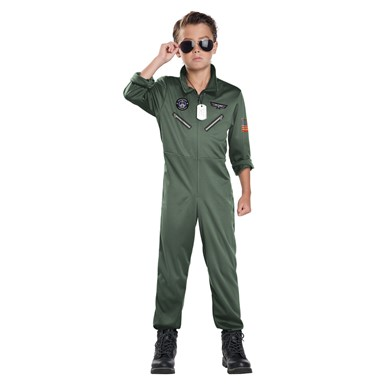 Child Jet Pilot Top Gun Costume