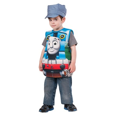 Child Thomas the Tank Candy Catcher Costume Up to sz 6