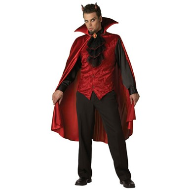 Dashing Devil Adult Mens Deluxe Halloween Costume