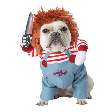 Deadly Doll Chucky Pet Halloween Costume