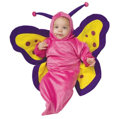 deluxe butterfly baby bunting costume 0 6 months