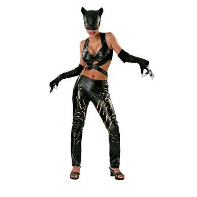 deluxe catwoman halloween costume adult