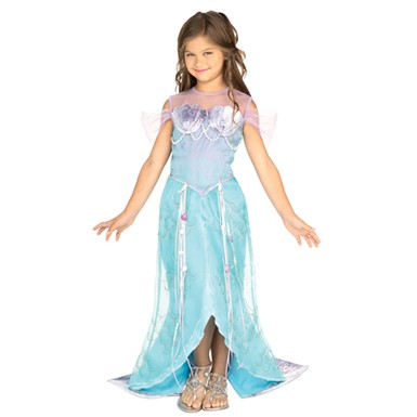 Deluxe Mermaid Princess Child Halloween Costume
