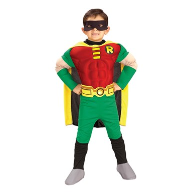 Deluxe Muscle Chest Teen Titan Robin Costume