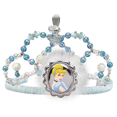 Disney Cinderella Tiara Child Halloween Costume