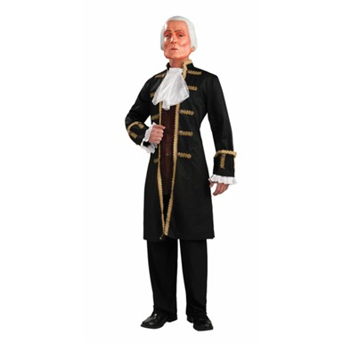 George Washington Mens Halloween Costume up to 42