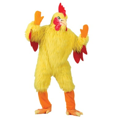 Giant Funny Chicken Adult Halloween Costume