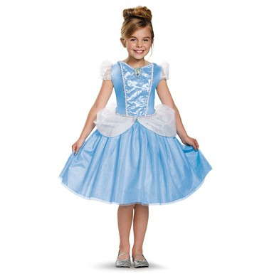 Girls Cinderella Classic Gown Disney Costume