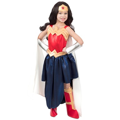 Girls DC Premium Wonder Woman Formalwear Costume