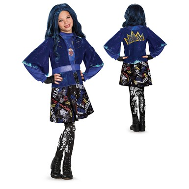 Girls Deluxe Evie Isle of the Lost Costume