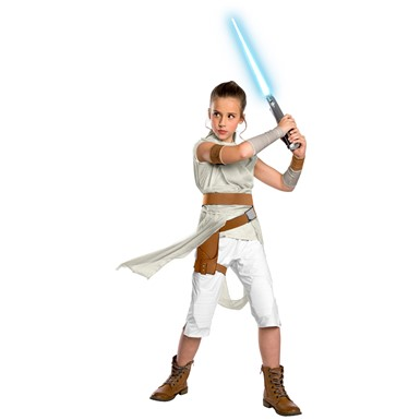 Girls Deluxe Rey Star Wars The Rise of Skywalker Costume