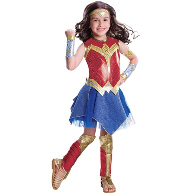 Girls Deluxe Wonder Woman Movie Costume